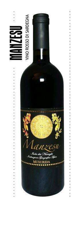 Manzesu, vino rosso di Sardegna