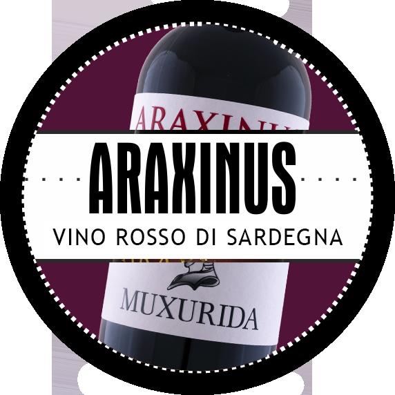 araxinus vino rosso azienda sa muxurida